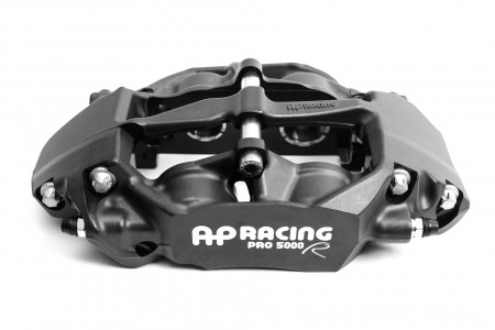 CP9451-3S4L AP Racing Pro5000R Radi-CAL Four Piston (Left Hand, Rear, Anodized)- 25.4mm/28.6mm