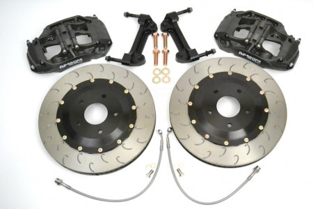 Essex Designed AP Racing Radi-CAL Competition Brake Kit (Front CP9660/372mm) Ford Mustang S197 05-14