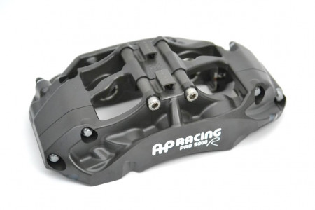 CP9661-3S4L AP Racing Pro5000R Radi-CAL Six Piston (Left Hand, Trailing, Anodized)