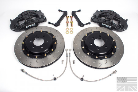 Essex Designed AP Racing Radi-CAL Competition Brake Kit (Front CP9668/355mm)- C5 Corvette