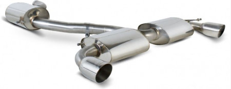 SCORPION EXHAUST SYSTEM VW GOLF GTI 09- RES HALF SS DAYTONA