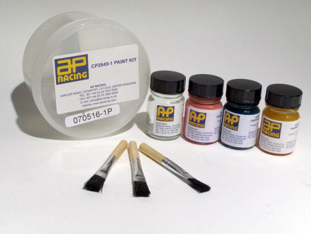 Temperature paint kit