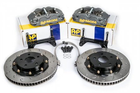 Essex Designed AP Racing Competition Brake Kit (Front CP8350/325)- Subaru WRX STI, '04-'17
