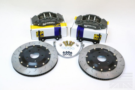 Essex Designed AP Racing Competition Brake Kit (Front CP5060/372)- S550 Ford Mustang