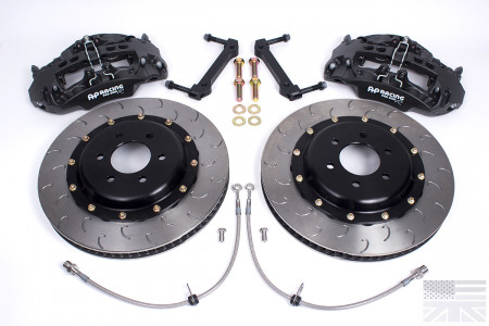 Essex Designed AP Racing Radi-CAL Competition Brake Kit (Front CP9668/372mm) Ford Mustang S197 05-14
