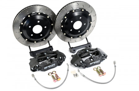 Essex Designed AP Racing Radi-CAL Competition Brake Kit (Rear CP9451/340mm)- Porsche 987, 981, 718 Boxster & Cayman