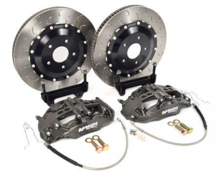 Essex Designed AP Racing Radi-CAL Competition Brake Kit (Front 9668/390mm)- R35 Nissan GT-R