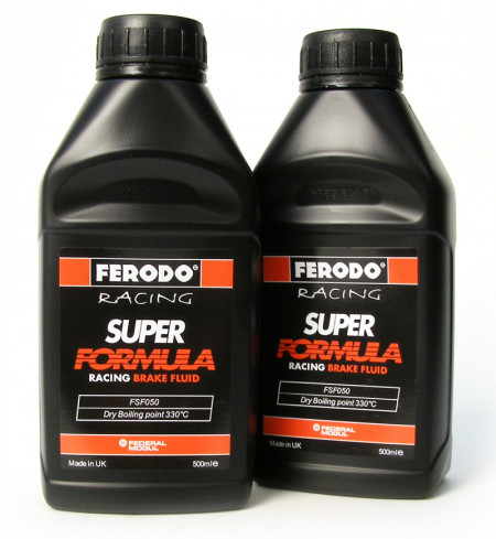 Ferodo Super Formula Brake Fluid 2 Pack (two 500ml bottles included)