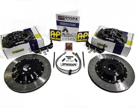 AP Racing by Essex Radi-CAL Competition Brake Kit (Front 9668/372mm)- Toyota GR Supra
