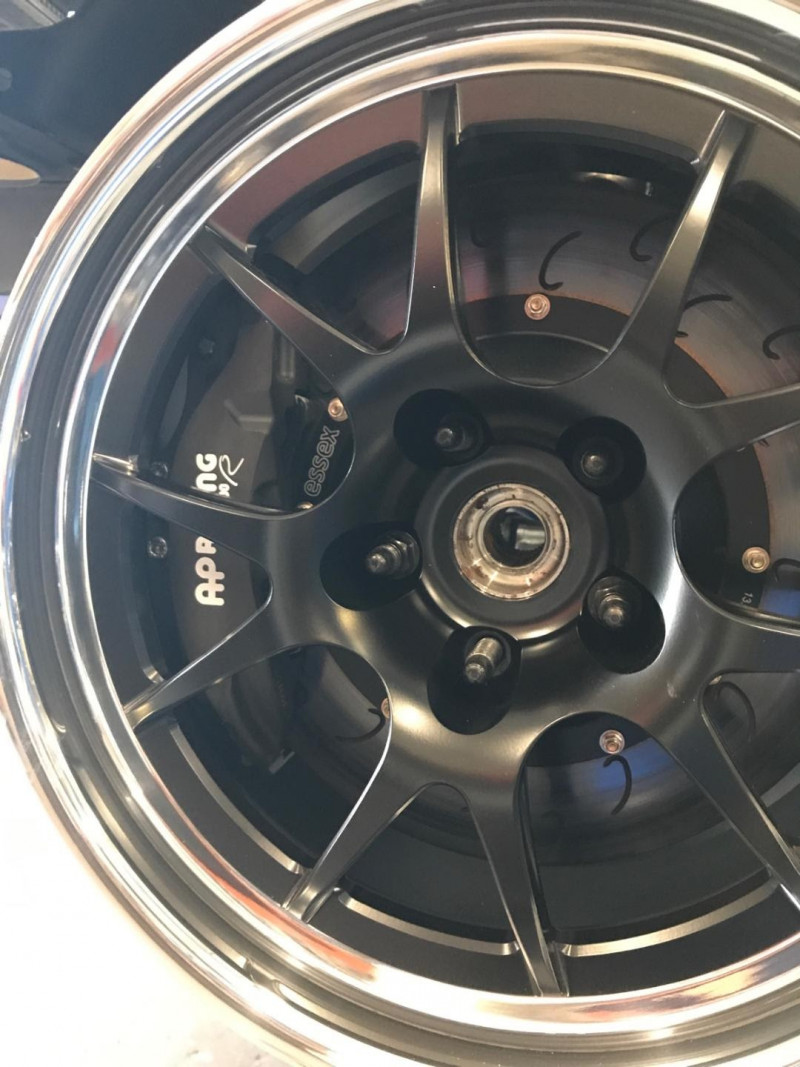 Essex Designed AP Racing Radi-CAL Competition Brake Kit (Front 9661/355)-  Volkswagen GTI Mk5 and Mk6 | Essex Parts Services, Inc