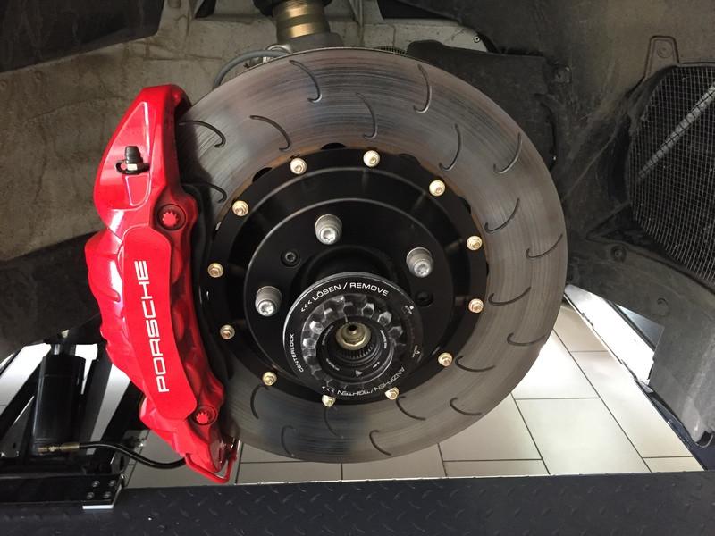 Essex Designed AP Racing 2-piece Competition J Hook Disc