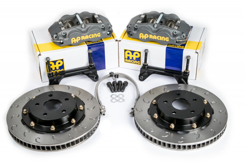 Essex Designed AP Racing Competition Brake Kit (Front CP8350/325)- S197  Ford Mustang | Essex Parts Services, Inc