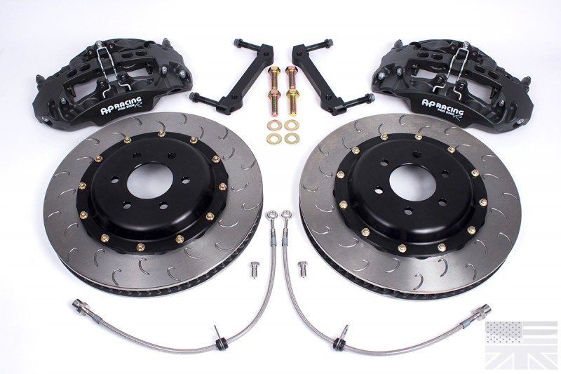 Essex Designed AP Racing Radi-CAL Competition Brake Kit (Front  CP9668/355mm)- e46 M3 | Essex Parts Services, Inc