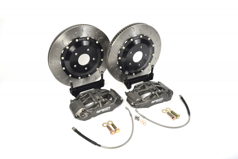 Essex Designed AP Racing Radi-CAL Competition Brake Kit (Front 9660/372mm)-  Lancer Evo X | Essex Parts Services, Inc