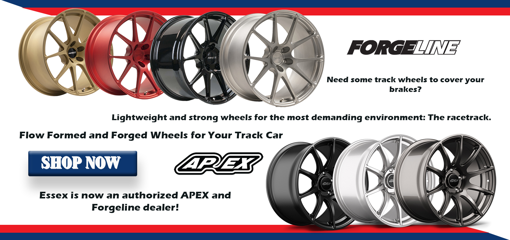 Apex, Forgeline, Wheels