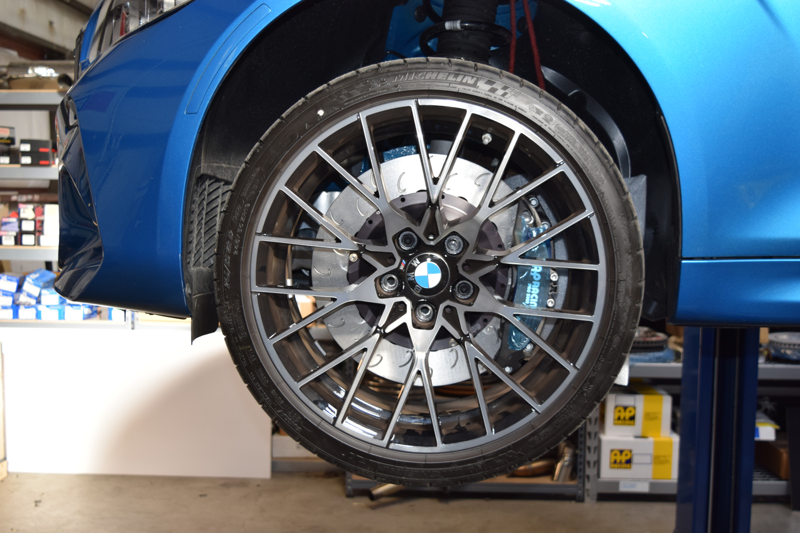 Essex Designed AP Racing Radi-CAL Brake Kits for M2